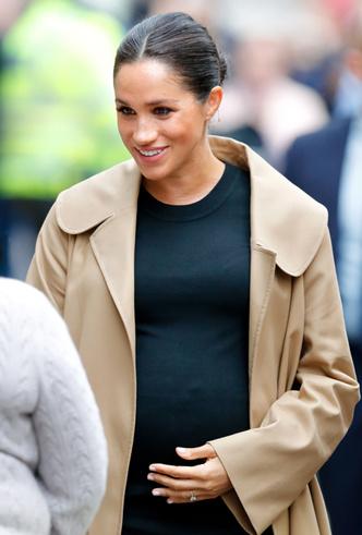 Фото №6 - Как Меган привлекает внимание к своей беременности: все стильные уловки герцогини