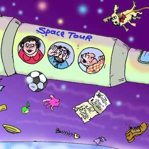 Фото №1 - Космический туризм подорожает вдвое