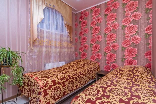 Номер одной из гостиниц Краснодарского края.