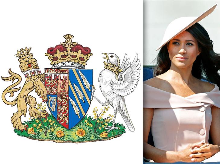 Фото №7 - Певчая птица, которую «задушила» Корона: как герб герцогини Меган оказался пророческим