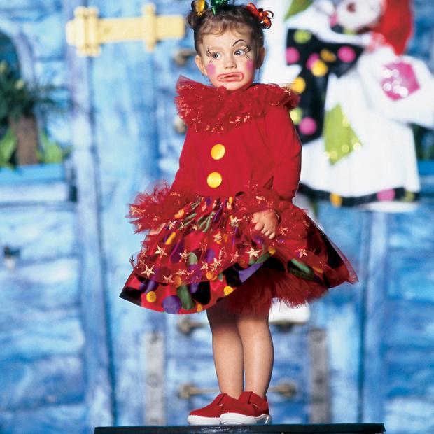 Фото №1 - Маленькая клоунесса