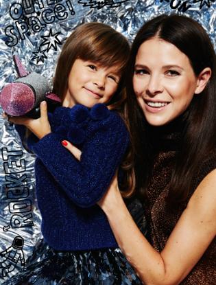 Фото №14 - Звездные мамы и дети в лукбуке H&M Studio Kids