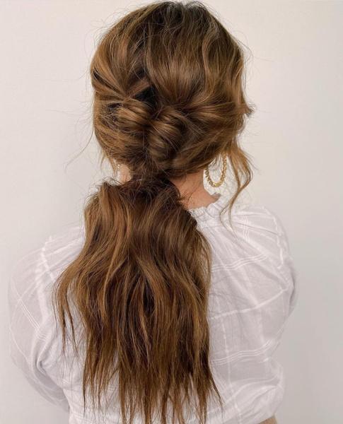 Фото №1 - Модные прически для длинных волос: тренды 2021