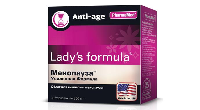 Lady's formula Менопауза Усиленная формула с anti-age-эффектом
