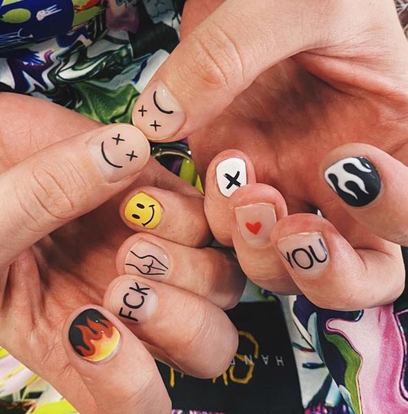 Фото №3 - Ногти Егора Крида: 5 идей маникюра для самых смелых парней