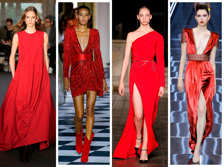 Фото №1 - Новогодний образ: топ-15 красных платьев для главного вечера года