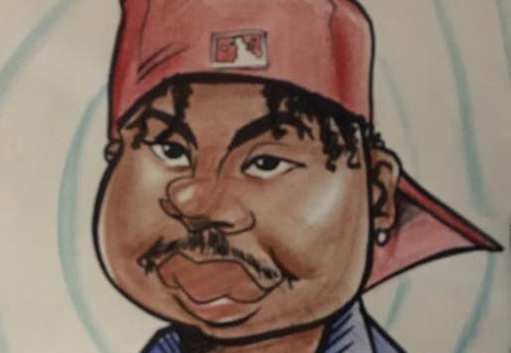 Фото №1 - Вор ограбил карикатуриста, но у художника остался смешной портрет преступника