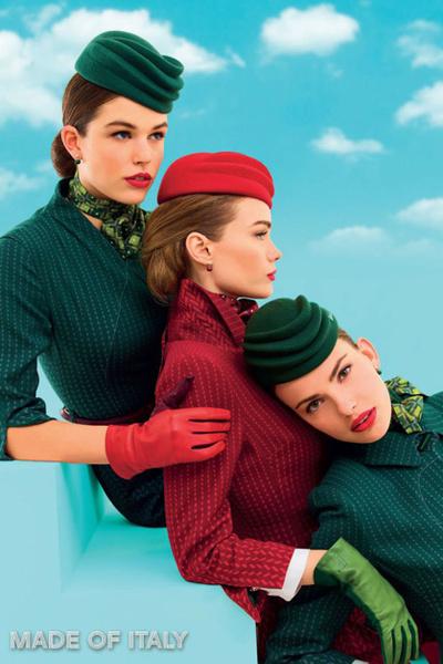 Фото №16 - Мода высокого полета: дизайнеры в поисках идеальной стюардессы