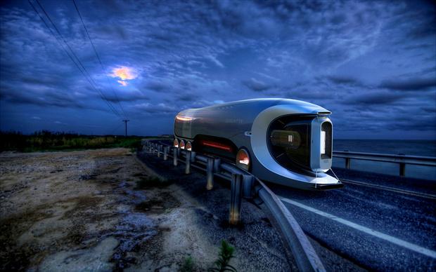Фото №1 - Как мог бы выглядеть грузовик Bugatti