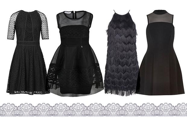Платье, Reiss; платье, Rinascimento, lamoda.ru, 10 790 руб.; платье, Topshop; платье, River Island