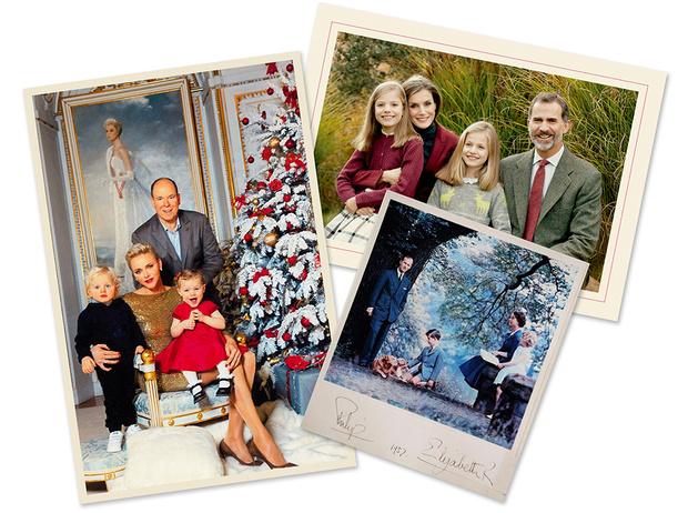 Фото №1 - Самые трогательные рождественские королевские открытки прошлых лет