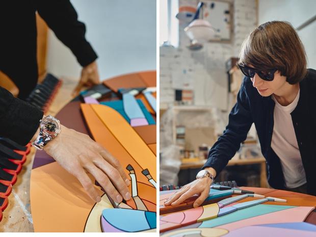 Фото №4 - Часы с артами Дмитрия Аске для проекта Swatch x You