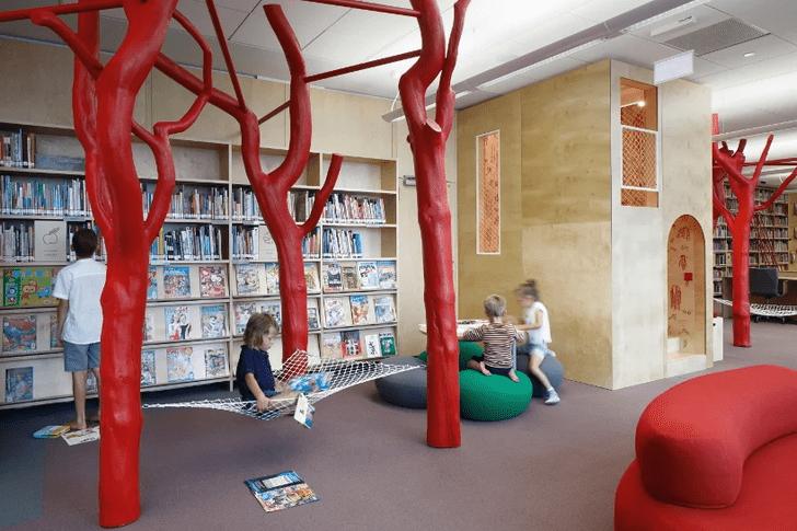 Фото №1 - Яркая библиотека для детей в Риге