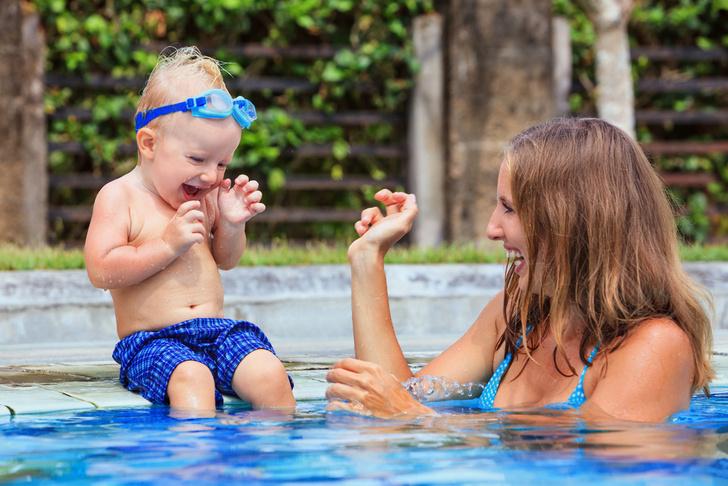 Ребенок боится воды что делать