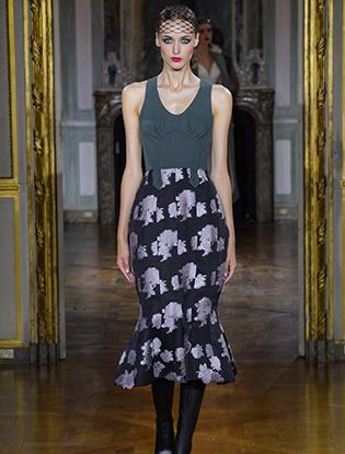 Фото №23 - Неделя Высокой моды в Париже: Ulyana Sergeenko Couture F2015