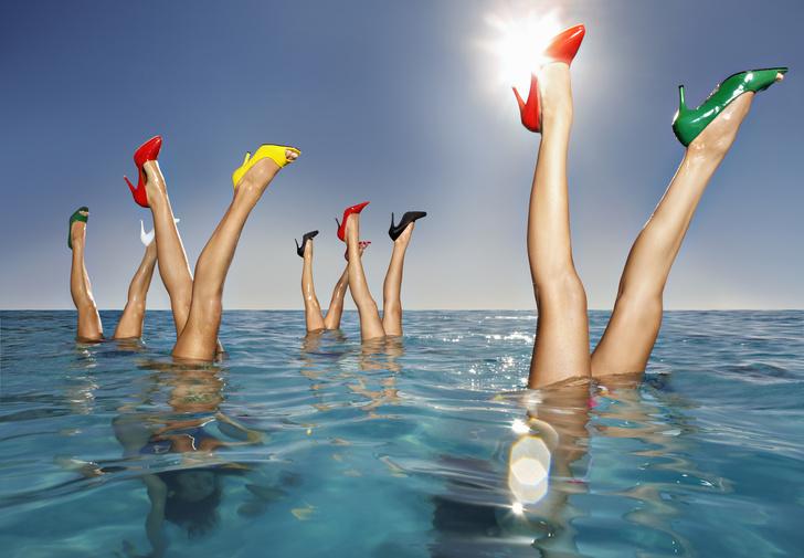Как сделать ноги худыми и стройными