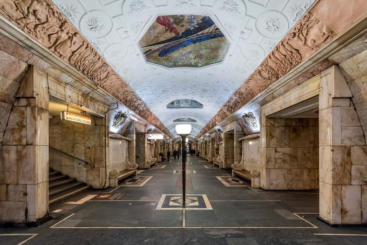 Фото №4 - Небесные своды Московского метро