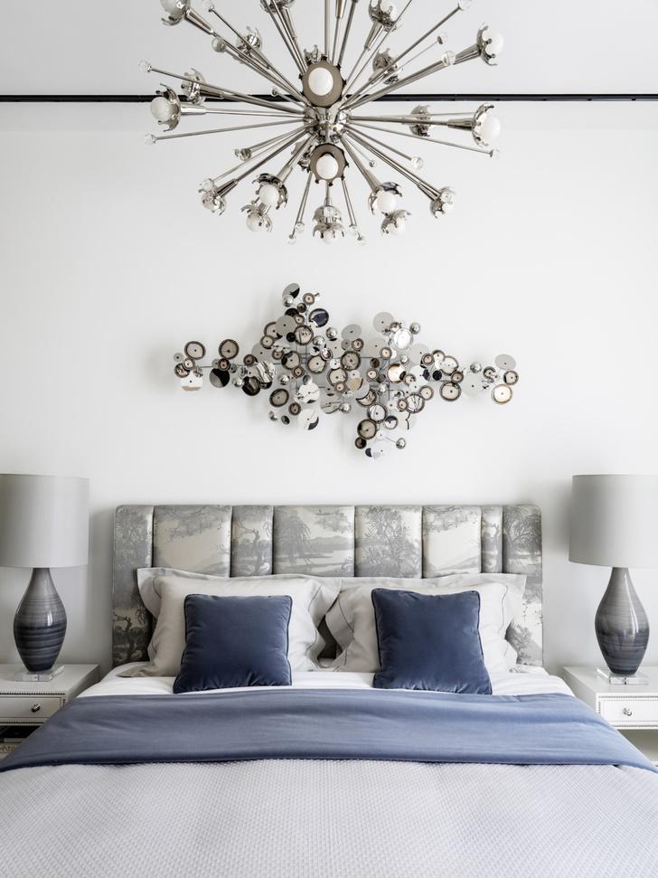 Фото №9 - Стена над изголовьем кровати: 10 идей декора