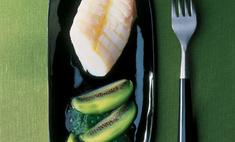 Рыба под соусом киви