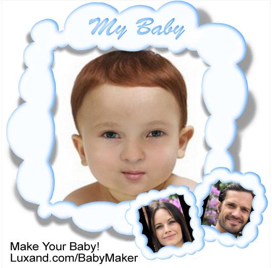 Фото №1 - Принцесса София станет мамой в третий раз: как может выглядеть малыш
