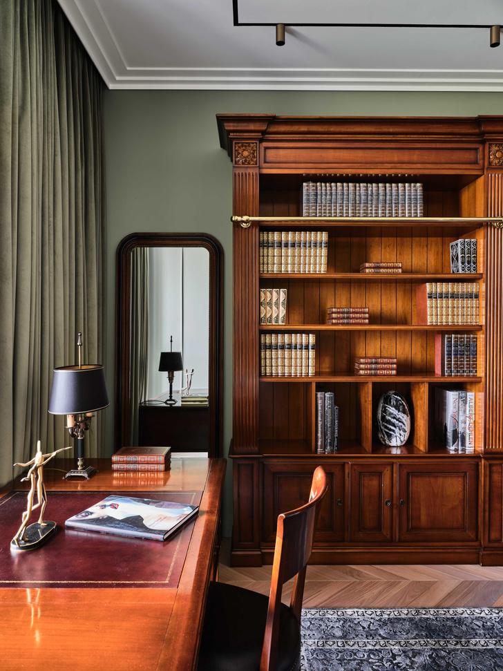 Фото №9 - «Манхэттенская» квартира с винтажной мебелью 136 м²
