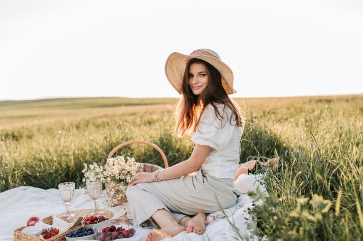 Цветы для пикника