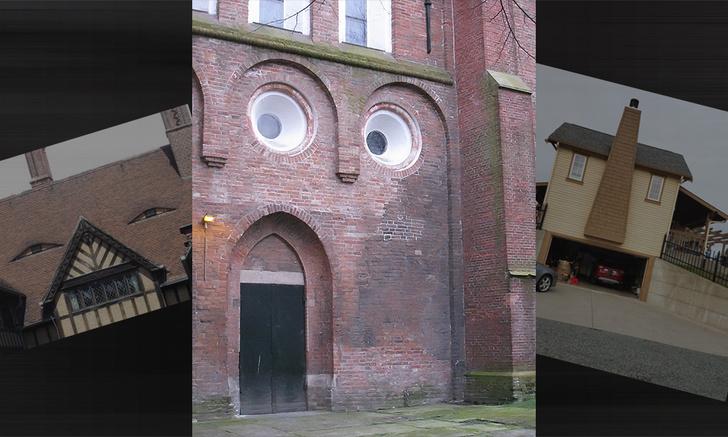 Фото №1 - У стен есть улыбки: галерея веселых домов