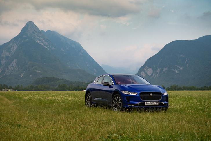 Jaguar I-PACE— первый 100-процентный электромобиль в истории марки