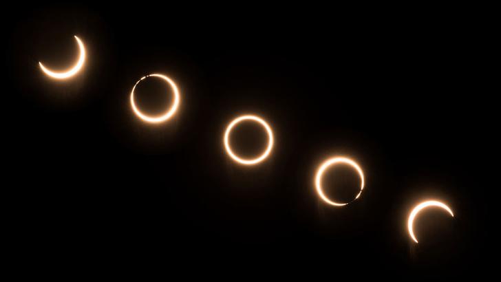 Фото №1 - Солнечное затмение