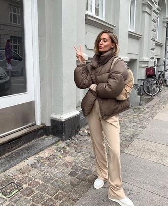Фото №8 - Inspiration: смотри, с чем носить дутую куртку зимой 2020-2021