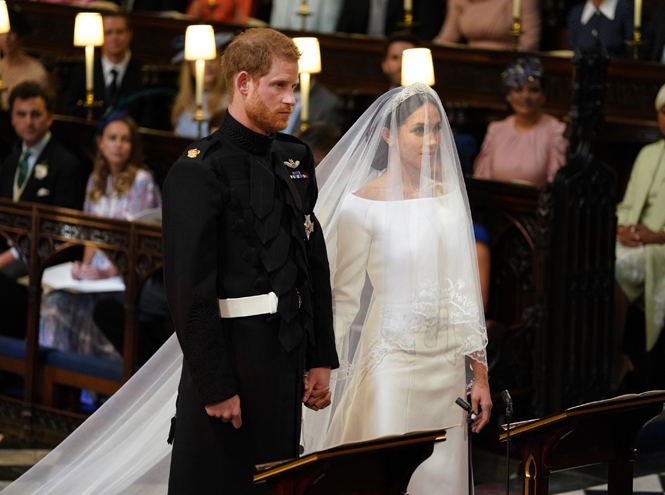 Фото №58 - Свадьба Меган Маркл и принца Гарри: как это было (видео, фото, комментарии)
