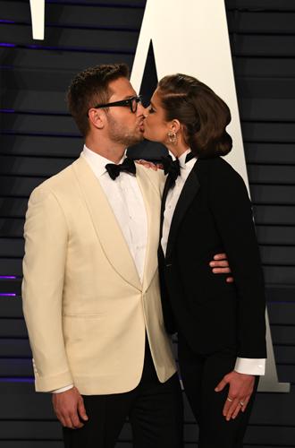 Фото №16 - Самые стильные звездные пары на вечеринке Vanity Fair-2019