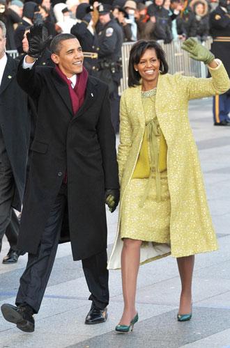 Фото №10 - От супруги президента к модной иконе: эволюция стиля Мишель Обамы