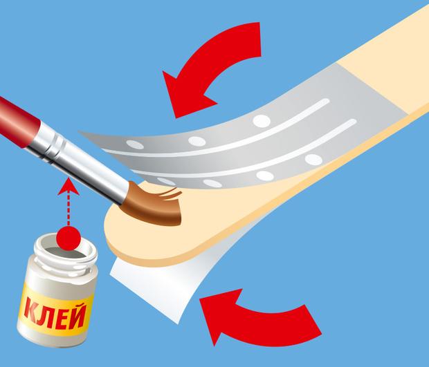 Фото №3 - Как сделать дубликат ключа из палочки от мороженого