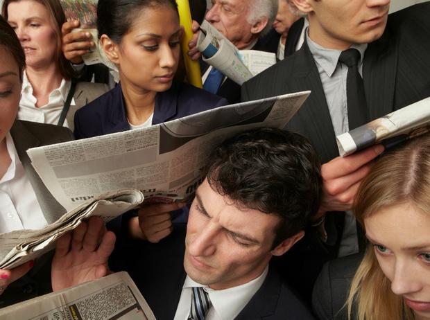Фото №2 - Почему общественный транспорт ─ это отличное место для медитации