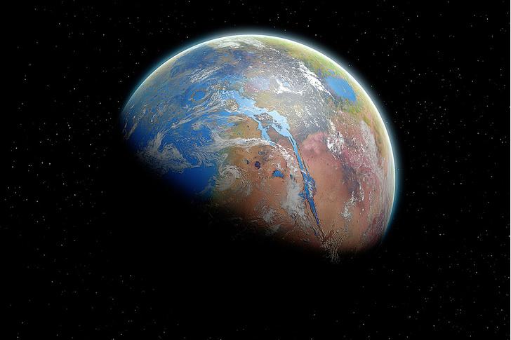 Фото №1 - Таймлайн: Марсианские хроники