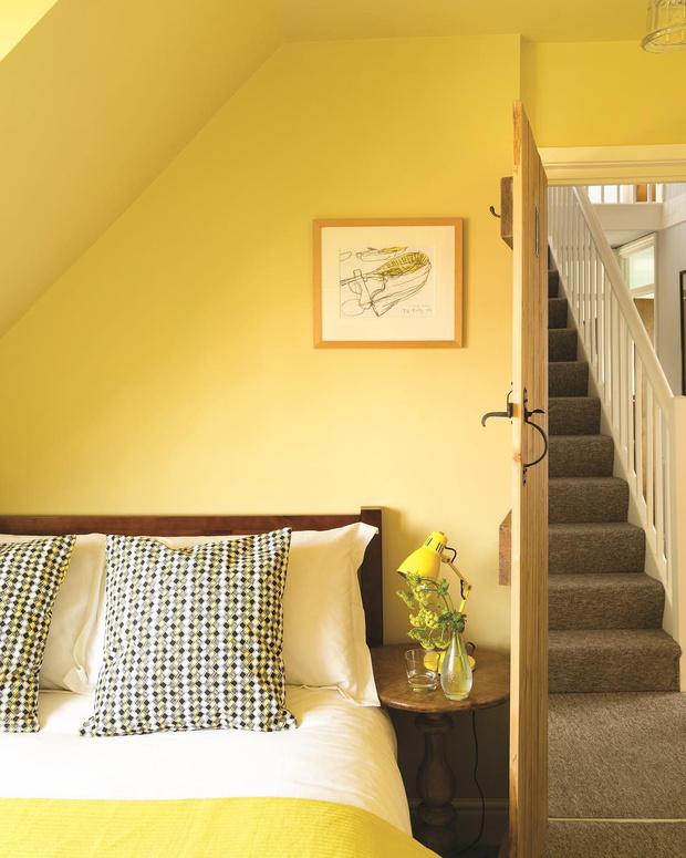Фото №14 - Красим стены в желтый: 6 секретов солнечного интерьера