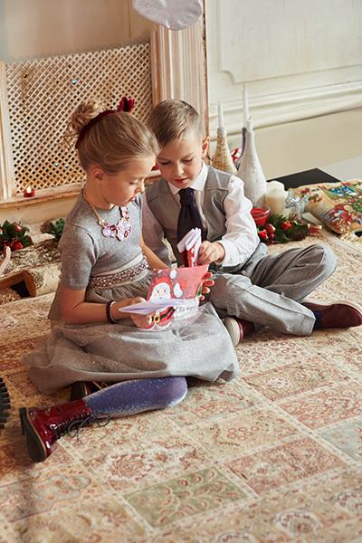 Фото №2 - Как модно одеть ребенка на праздник