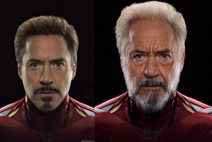 Фото №2 - Как выглядели бы «Мстители» в старости