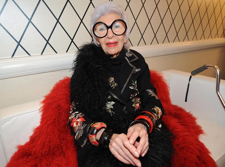 Фото №2 - Айрис Апфель рассказала, как она выбирает свои очки