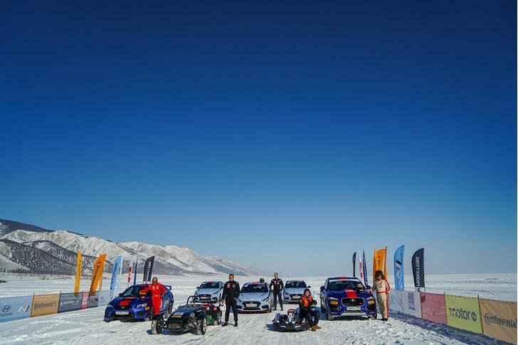 Фото №19 - По толстому льду: как прошли «Байкальская миля» и «Дни скорости на льду Байкала»