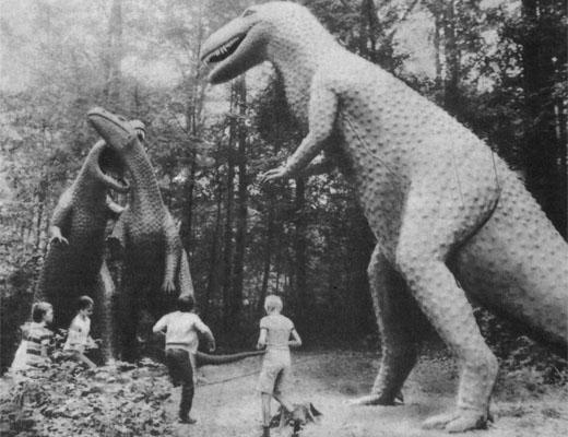 Фото №1 - Динозавры возвращаются