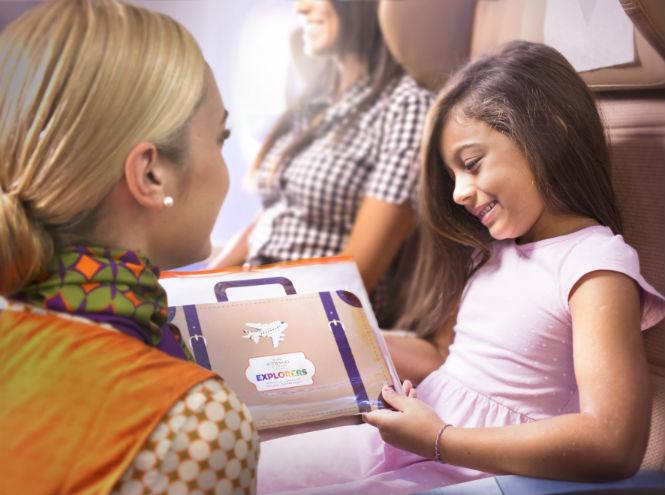 Фото №3 - Etihad Airways представляет новые развлекательные наборы для детей