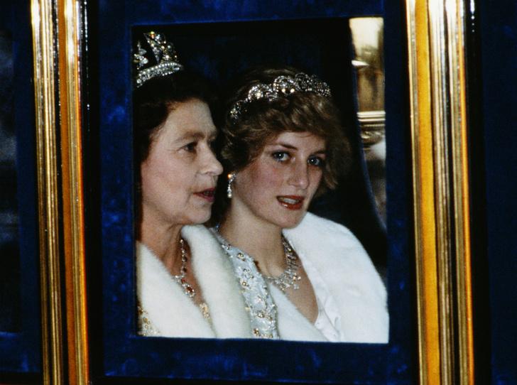 Фото №1 - Что сказала Королева, узнав о гибели принцессы Дианы