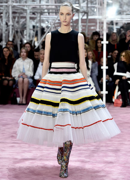 Коллекция Dior Couture весна-2015