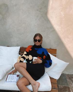 Фото №2 - Гардероб новой девушки Брэда Питта: 6 любимых вещей модели Николь Потуральски