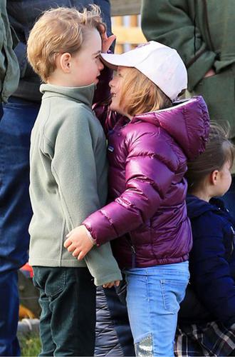 Фото №14 - Принц Джордж Кембриджский: шестой год в фотографиях