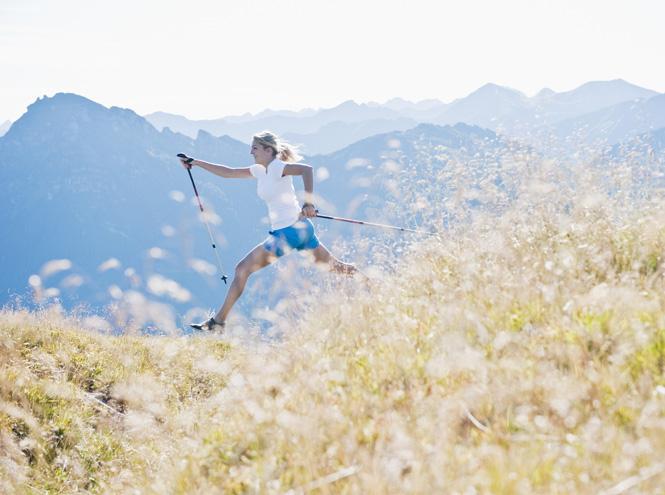 Фото №2 - Характер нордический: скандинавская ходьба как альтернатива бегу