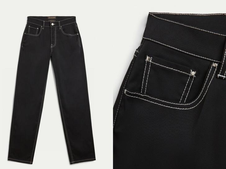 Фото №6 - Актуальные черные джинсы, которые стройнят