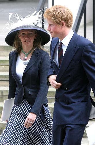 Принц Гарри представил Меган Маркл своей любимой няне   Marie Claire